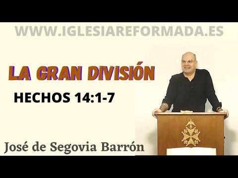 La Gran División (Hechos 14:1-7)