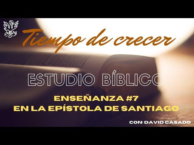 Estudio Bíblico #7. Preparándome para recibir la palabra. Santiago 1:19-21