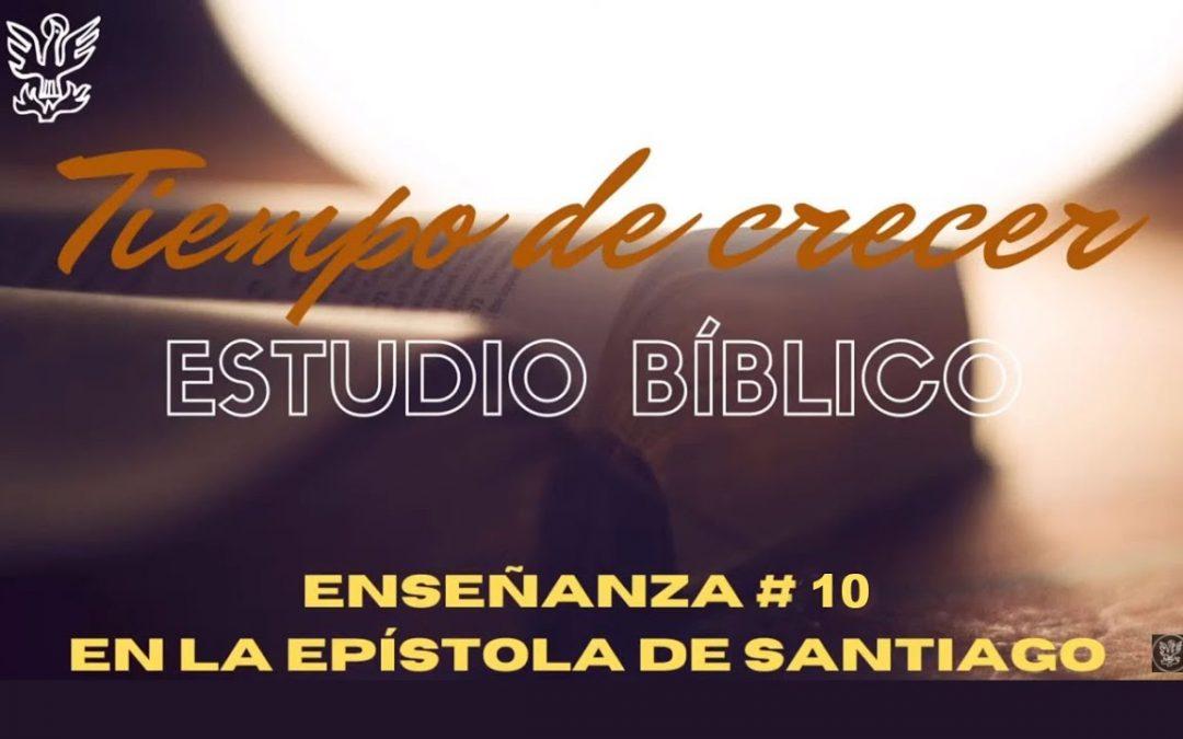 Estudio bíblico #10 «Favoritismo» (Santiago 2:1-7)