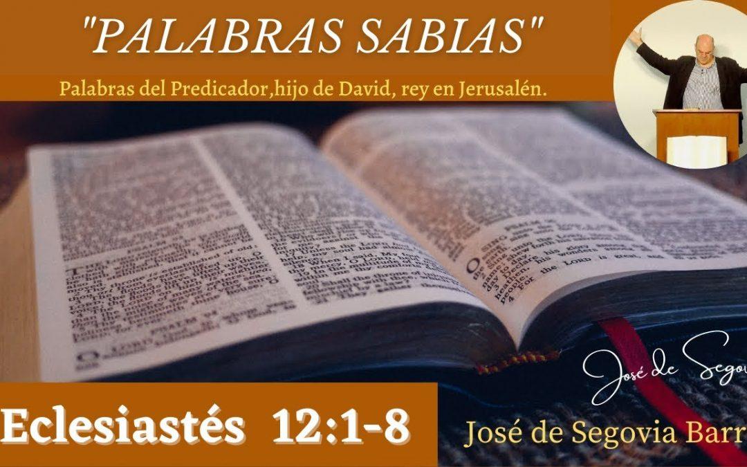 Palabras sabias (Eclesiastés 12:9-12)